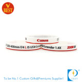 Promotional Wholesale Debossed Rubber Wristband for Activity