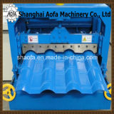 Colorear el Rodillo de Fabricación Acuciante Hidráulico de Acero del Azulejo de Azotea Que Forma la Máquina