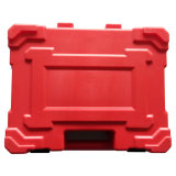 Caja de herramientas portable del producto del plástico del moldeo por insuflación de aire comprimido