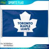カスタムフラグ、スポーツのフラグ、NHLはフラグを付ける、ハートフォードの捕鯨船のフラグ(J-NF01F09079)