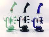 Tubulação de água de fumo de vidro Inline do estilo 15inch Perc da promoção de Hbking