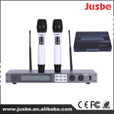 Beständige Leistung UHFdrahtloser Mikrofon-Fachmann für Karaoke