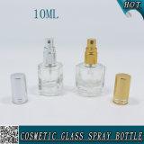 Estetica di vetro libera vuota di lusso 10ml della bottiglia di profumo dello spruzzo
