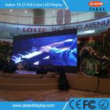 Guter farbenreicher Mietbildschirm LED der QualitätsP6.25 Fernsehapparat