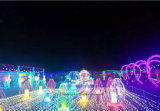 LED secuencia de hadas de cadenas ligeras Festival de la Luz de vacaciones