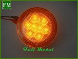 Para Jeep Wrangler Blinker Lens 12V 3W Front Grille Turn Signal Lamp