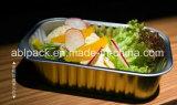 Próprio para microondas ou refeição recipientes de alumínio coloridos para restauração