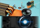 Mini intelligenter Pocket Multimedia-Projektor für Haus/Büro/im Freienprojektor