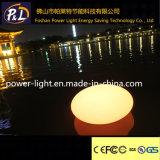 Lumière en plastique lumineuse rougeoyante de pierre de syndicat de prix ferme de DEL
