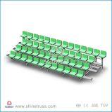 Cadeiras desportivas Assento portátil de alumínio
