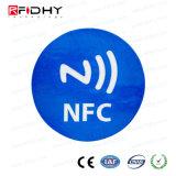 移動式支払のための接着剤が付いているCD Label/NFCのラベルか札