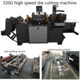Máquina que corta con tintas plana automática para las escrituras de la etiqueta autas-adhesivo
