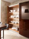 2016の新しいデザインシェーカー様式の最もよく白い食器棚