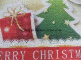 Циновка ванной комнаты полового коврика катушки PVC праздника с Рождеством Христовым