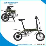 2017 Mini250w, die das 14 Zoll-elektrische Fahrrad mit Pedalen falten