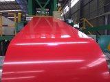 Galvalume enduit d'une première couche de peinture par qualité en acier pour la tuile de toiture