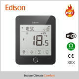 Termóstato de aquecimento radiante eléctrico com WiFi para o Android Ios Telefone Celular