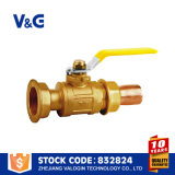 Venda quente de bronze da válvula de gás (VG-A64021)