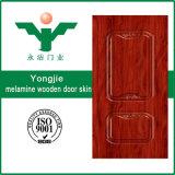 Prix neuf de peau de porte de mélamine de modèle de Yongkang Yongjie