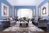 Mobilia del sofà dell'angolo tessuto del salone/della cote