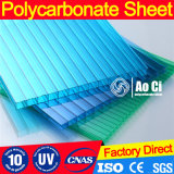 Feuille de feuille en polycarbonate en carton creux Triple Wall PC
