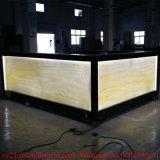 Projet de design de restaurant moderne Wine Restaurant Furniture Dinks en surface solide Bar Set de comptoir de restaurant