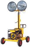 Draußen Aufbau-beweglicher heller Aufsatz mit Dieselgenerator