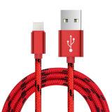 Новый архив нейлоновой оплеткой реверсивный тип C кабель USB