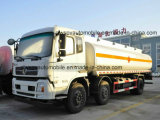 Dongfeng 3 Assen 25000 van de Brandstof van de Tank van het Vervoer Liter van de Vrachtwagen van de Olietanker