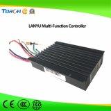30W imperméabilisent la batterie Li-ion solaire intégrée de réverbère de détecteur de mouvement IP65