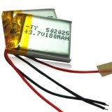 5X20X25mm 180mAh bateria de bateria Li-Polymer recarregável com PCM