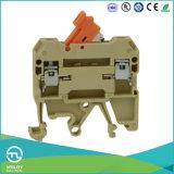 Type 4mm van Schakelaar van de Distributie van het Spoor van DIN Industrieel 250V 10A EindBlok
