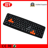 USB Keyboard Port Djj2117 Wired Gaming Keyboard para computador Laptop Game