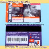 Cartão de saúde com faixa de assinatura magnética para o hospital