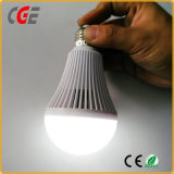 Bateria de lítio Emergency da luz de bulbo do diodo emissor de luz da ampola do PC 9W da economia 3 horas