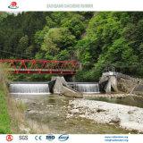 Nova barragem de borracha insufláveis concebidos como nova tecnologia