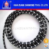 O fio do diamante de Huazuan viu para o processamento de pedra