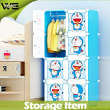 Pp.-Plastikwürfel und 2 Kleiderbügel Wholesale Kind-Garderobe