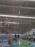 Ventilação elevada Fan7.4m/24.3FT do volume de ar do baixo ruído industrial grande da C.A.