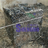 Prensa de empacotamento de aço hidráulica automática da sucata (bala do push-out)
