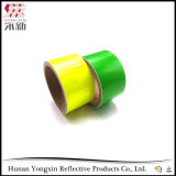 Fluoreszenz-gelbe Nachtreflektierende Sicherheits-warnender Augenfälligkeit-Band-Aufkleber
