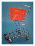 Хромированный корзины покупок тележки