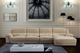 Sofá moderno do couro da parte superior da mobília (SBL-9028)