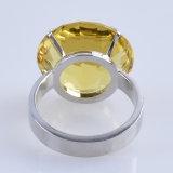 Anillo Holder 50mm amarillo cristal de diamante de la servilleta para la decoración