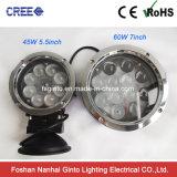 4X4 lámpara 60W, linterna campo a través del trabajo del coche LED de 7inch LED