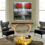 بيتيّة زخرفة [أيل بينتينغ كنفس] صورة زيتيّة من مشردة أشجار