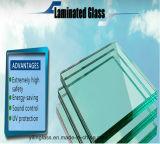 Прокатанное стекло для ненесущей стены здания, потолка, двери, балюстрады