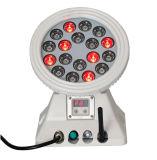 DMX 4in1 RGBW Farbe, die drahtloses LED-Wand-Wäsche-Licht ändert