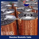 Fio de alumínio folheado de cobre/fio esmaltado
