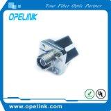 Adaptador óptico SM a una cara de fibra Sc-FC
